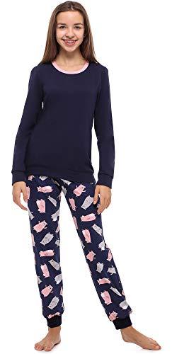 Merry Style Pijama Conjunto Camiseta y Pantalones Ropa Niña MS10-238