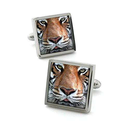 Robert Charles Manschettenknöpfe, Motiv Tiger