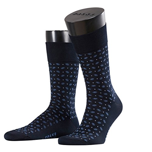 FALKE Herren Socken Sens Jabot, Blau (Dark Navy 6375), 47-50