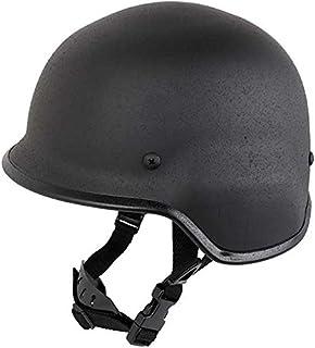 SHENKEL M88 PASGTタイプ スチール製 フリッツヘルメット (BK ブラック) フリーサイズ 鉄製 米軍 黒 ミリタリー サバゲー サバイバルゲーム