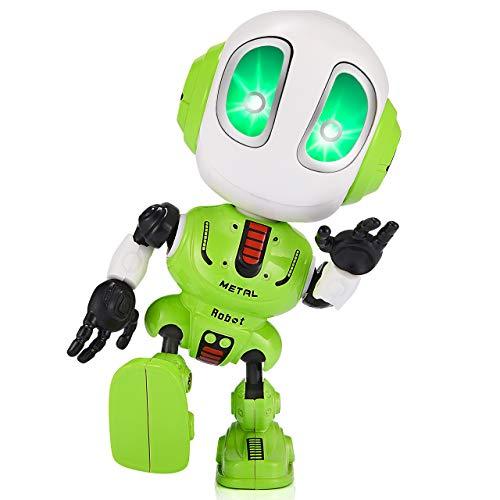 Tesoky Geschenke für Jungen ab 3 4 5 6 7 8 Jahre, Roboter Kinder Spielzeug für Jungen 3-8 Jahre Mädchen Geschenke 3-8 Jahre Spielzeug 3-8 Jahre Jungs Geburtstagsgeschenk für Mädchen 3-8 Jahre Grün