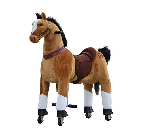 Medallion - My Pony Ride On Real Walking Horse for Children 5 to 12 Years Old or...