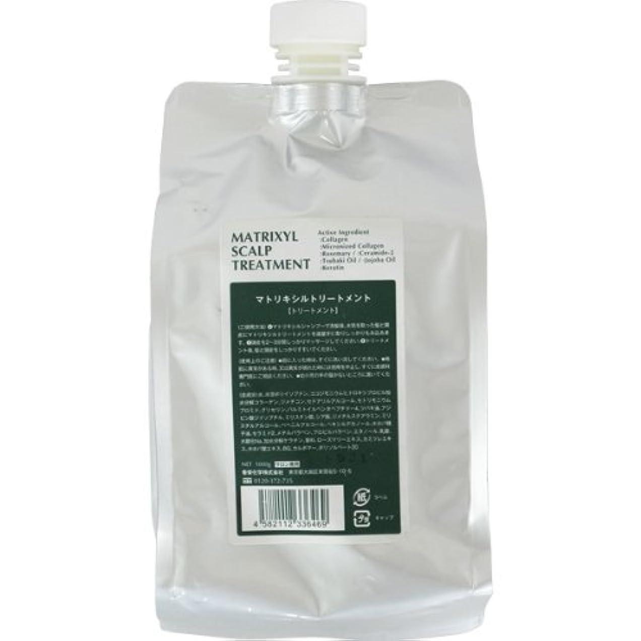 気体の不公平スペシャリスト香栄化学 マトリキシル スキャルプトリートメント レフィル 1000g