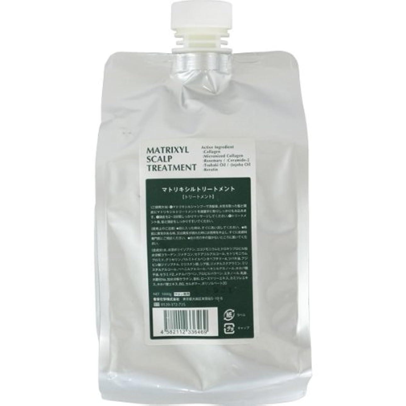 ジャングルモス啓発する香栄化学 マトリキシル スキャルプトリートメント レフィル 1000g