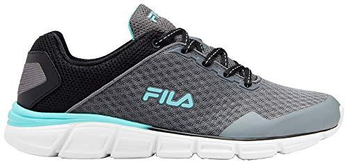 Fila Womens Memory Countdown 5 Running Shoes 9 Grey