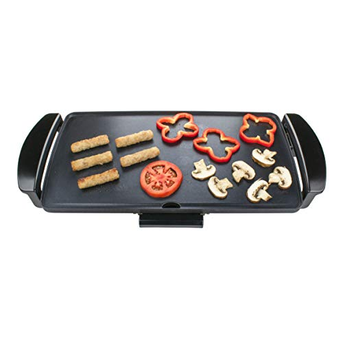 Brentwood Appliances TS819 Nonstick Electric Griddle with Drip Pan, One Size, Black