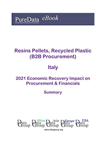 Resins Pellets, Recycled Plastic (B2B Procurement) Italy Summary: 2021 Economic Recovery Impact on Revenues & Financials (English Edition)