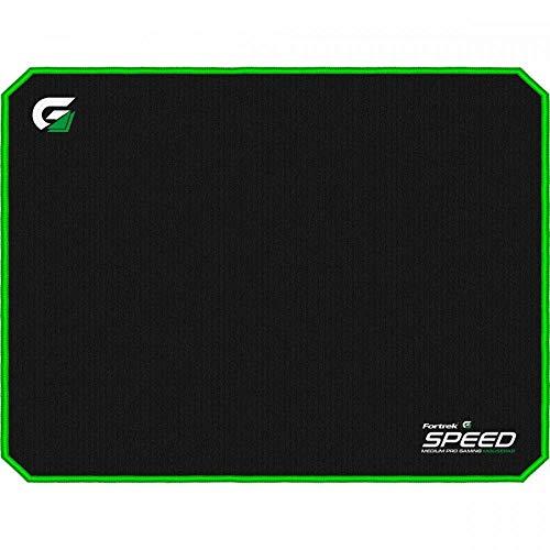 Mouse Pad Gamer (440x350mm) SPEED MPG102 Preto/Verde Fortrek