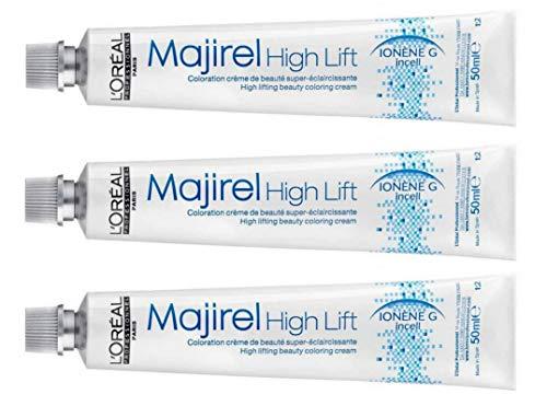 Loreal Majirel High Lift HL Ash 3 x 50 ml Haarfarbe LP Coloration Asch