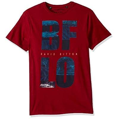 Men's Short Sleeve Bio Wash Crew Neck T-Shirt