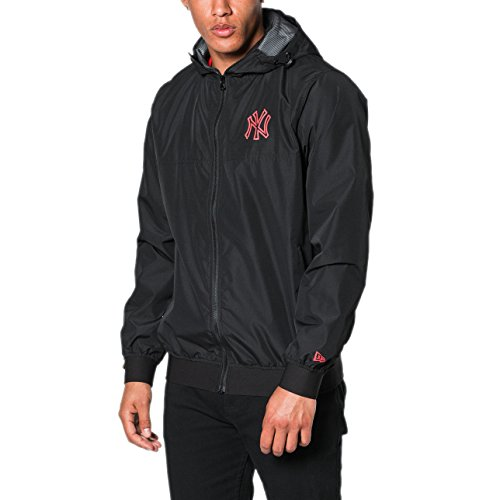 New Era Veste Coupe Vent Mlb New York Yankees Nights noir/rouge taille: XS (X-Small)
