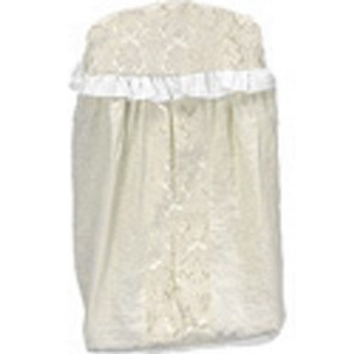 Baby Doll Bedding King Diaper Stacker, Ivory