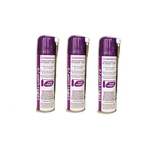 Lubrilimp0: Bote de Spray Residuo 0 Limpia contactos (3 Unidades)
