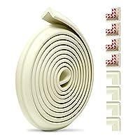 5Mベビーセーフティコーナープロテクター、子供用ホームプロテクションベビープルーフエッジ、キッズ家具バンパー用コーナークッション(Size:5 meters,Color:B)