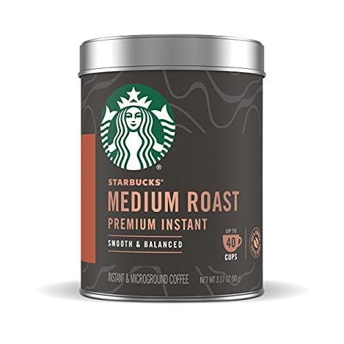 Starbucks Premium Instant MultiServe 90g, Medium Roast, 3.1747 Ounce