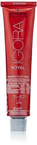 Schwarzkopf IGORA Royal Premium-Haarfarbe 7-57 mittelblond gold kupfer, 1er Pack (1 x 60 g)