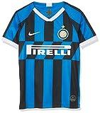 Inter, Maglia Home Bambino 2019/2020, Maglietta da Calcio Unisex Bambini, Blu (Blue Spark/White), L