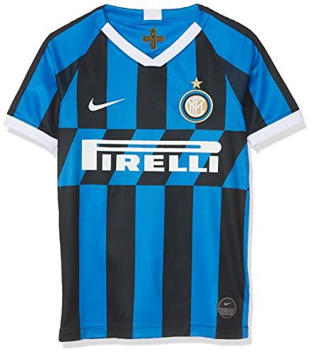 Inter, Maglia Home Bambino 2019/2020, Maglietta da Calcio Unisex Bambini, Blu (Blue Spark/White), XL