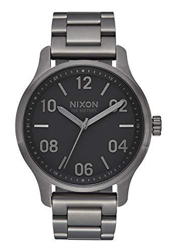 Nixon Herren Analog Japanischer Quarz Uhr mit Edelstahl Armband A1242-1531-00