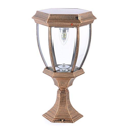 Kendal Large Outdoor Solar Powered LED Light Lamp SL-8404