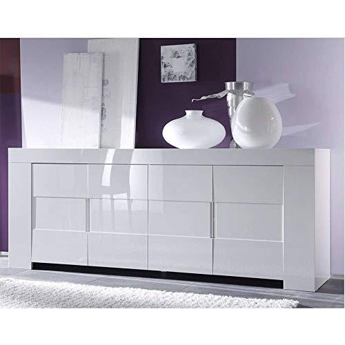 Azura Home Design - Aparador ZEOS (210 cm), color blanco