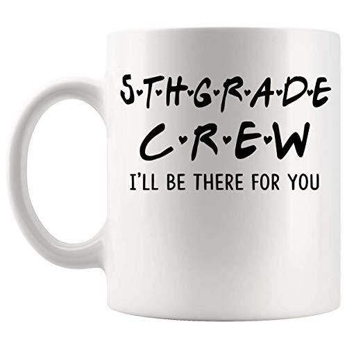Lsjuee Students school 5Th Grade Crew student 11Oz Mug Cup - Maglietta per idee regalo di calcio universitario per studenti