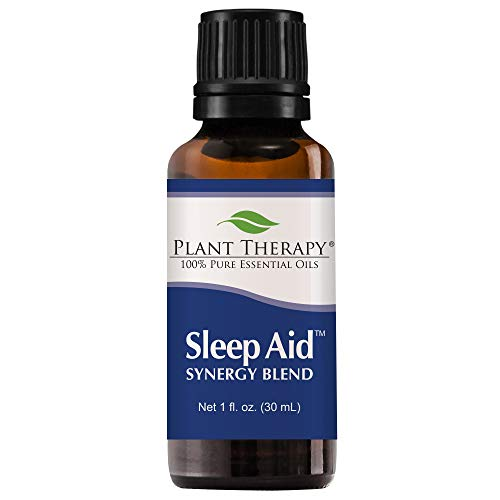 Plant Therapy Essential Oil | Sleep Aid Synergy |Calming & Sleep Blend | 100% Pure, Undiluted, Natural Aromatherapy, Therapeutic Grade | 30 milliliter (1 ounce)