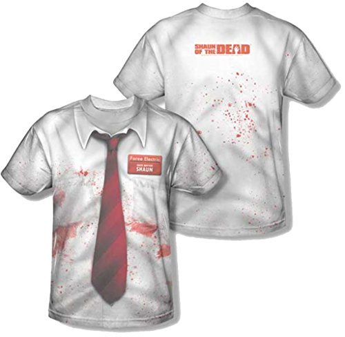 Shaun of The Dead Foree - Camiseta para disfraz elctrico