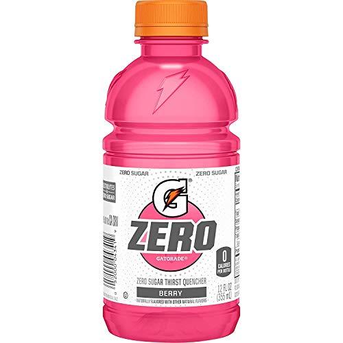Gatorade Zero Sugar Thirst Quencher, Berry, 12 Ounce, 24 Count