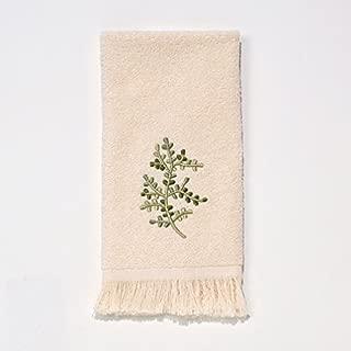 Avanti Linens Greenwood Fingertip Towel, Ivory