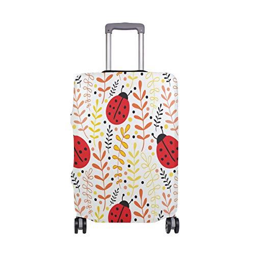 Cubierta de equipaje de viaje Ladybug Elastic Maleta Protector lavable Fundas de equipaje para 45,7-82 cm