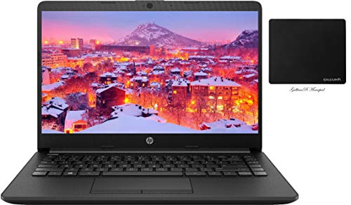 """Newest HP 14"""" HD Business and Student Laptop, AMD Ryzen 3 3250U up to 3.5 GHz, 32GB RAM, 1TB HDD, WiFi, Bluetooth, HDMI, Windows 10 with GalliumPi Accessories"""