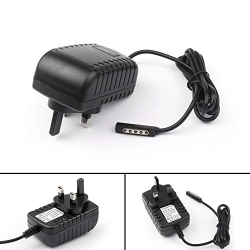 Bruce & Shark 4Pcs 12V 2A AC/DC UK Plug Adapter Power Charger For Microsoft Surface RT/RT2