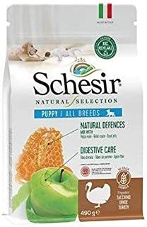 Schesir Natural Selection Dry Puppy Turkey 490 g