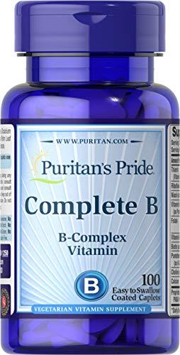 Complete B (B-Complex Vitamin) 100 Coated Caplets