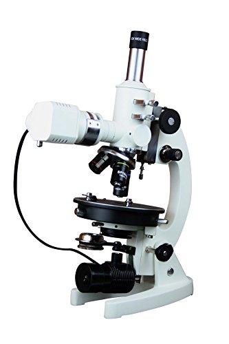 Radical Geology Ore Polarizing Metallurgy Microsope w Relected transmitted Light Gypsum Mica Plates