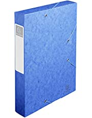 Exacompta 16005H - Carpeta de proyecto con goma, color azul
