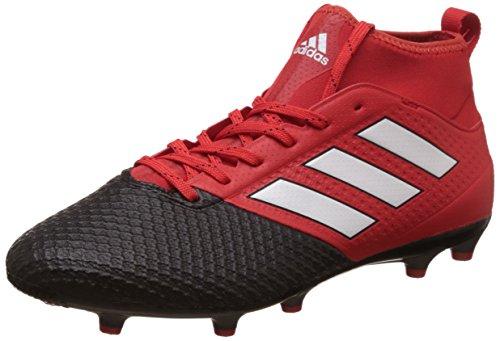 adidas Ace 17.3 Primemesh Fg, Botas De Fútbol para Hombre, Rojo (Red/ftwr White/core Black), 42 EU