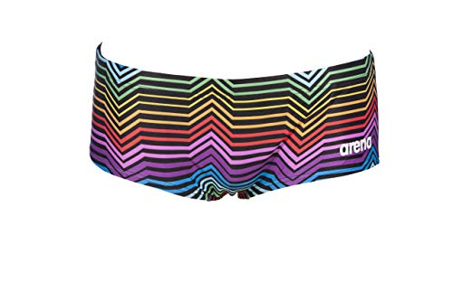 Arena M Multicolor Stripes Low Waist Short, zwembroek voor heren