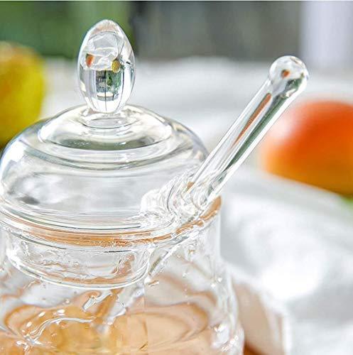 Licuadora portátil Tarro de miel con forma de panal de plástico ...
