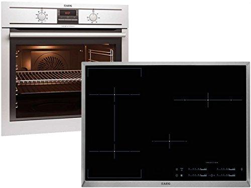 AEG BE31888 Set Einbaubackofen BE3003001M + Induktion Kochstelle HKL85410X-B