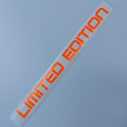 folien-zentrum Limited Edition Shocker Hand neon Auto Aufkleber JDM Tuning OEM Dub Decal Stickerbomb Bombing Fun w 250 (Neon Orange)