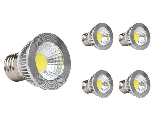 GOOLSUN 5-watt PAR16/HR16 LED COB Flood Bulb, 2700K Warm White, Dimmable, 90