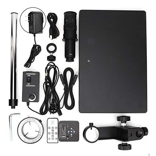 Microscope Camera Outputs 100-240v Full Set 34MP Digital Industrial Soldering Microscope Camera HDMI USB(US Plug)