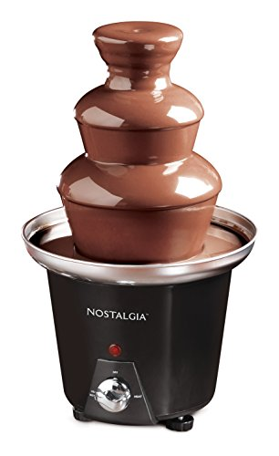 Nostalgia CFF965 Mini Fondue Fountain, Black