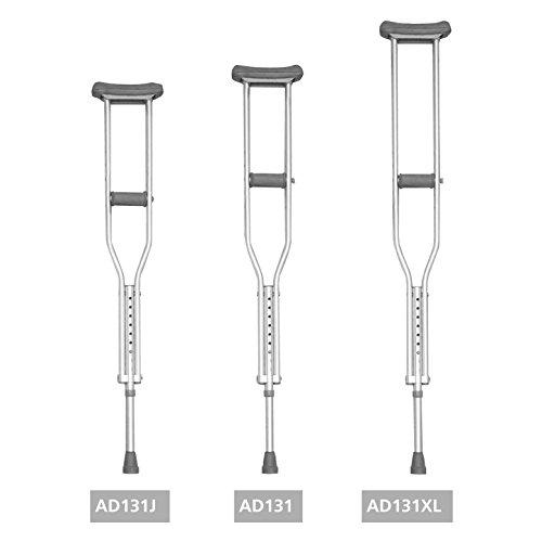 Ayudas dinamicas - (Par) muleta axilar , talla adulto