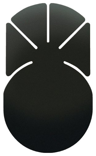 槌屋ヤック オーディオパーツ 貼付ベース 扇 大 VP-93