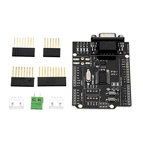 EmNarsissus Can-bus Shield Expansion Board Mcp2515 Development Board Can Protocol Communication Board Black Header