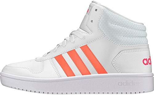 Adidas Hoops Mid 2.0 K, Zapatillas de Baloncesto Niños Unisex niño, Multicolor (Ftwbla/Semcor/Rosrea 000), 31 EU