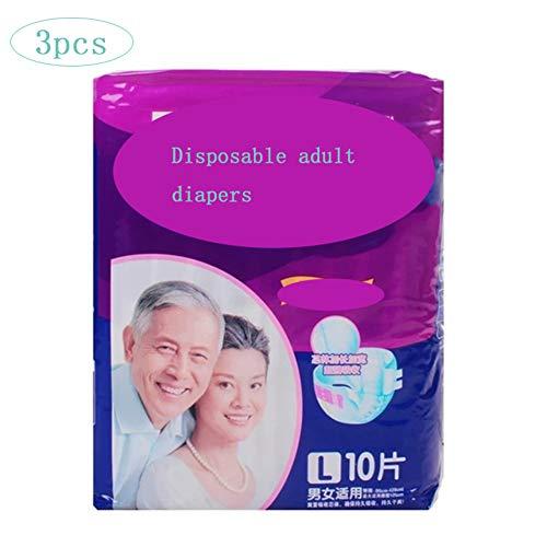 Thole Inkontinenzslips Windeln für Erwachsene für sicheren Auslaufschutz vor schwacher Blase Bettnässen Mutterschafts-Einwegwindeln 30St